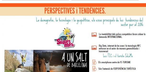 Imatge infografia sector turístic