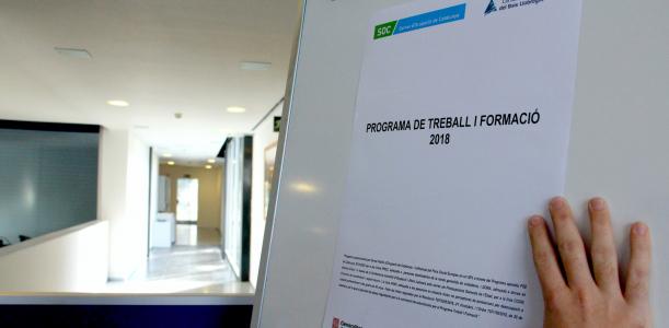 S'enceta la convocatòria 2018 del programa Treball i Formació